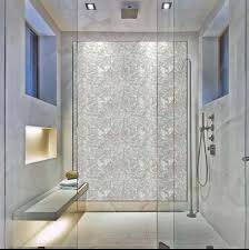 mother of pearl tiles bathroom shell shower wall stickers st078 4