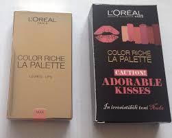 L Oreal Color Riche La Palette Labbra Levres Lips Adorable Kisses