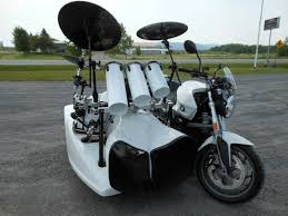 bmw motorcycle with drum kit sidecar craziest gadgets