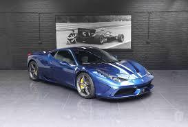 ferrari 458 speciale blue. lhd ferrari 458 speciale blue