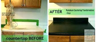 rustoleum countertop coating painted