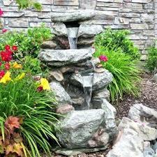 outdoor garden fountain. Outdoor Water Fountains Modern Solar Cascading Fountain Garden