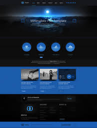 Website Design Templates Moon PSD Template By Cakirx ThemeForest 16