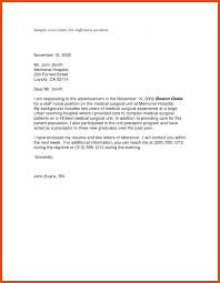 New Grad Registered Nurse Cover Letter Examples Adriangatton Com