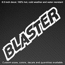 Yamaha Blaster Decal Sticker Adhesive
