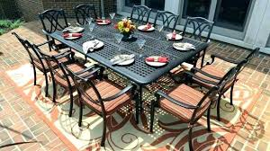 outdoor dining sets for 8. 8 Person Outdoor Dining Set Table Impressive Seat  . Sets For