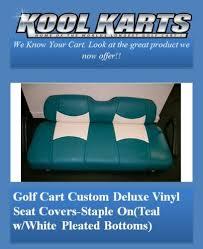 custom golf cart seat replacement