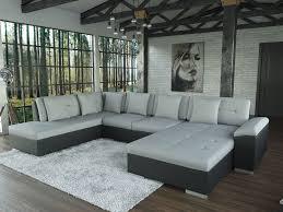 Sofa Polsterecke Alimia Schwarz Strukturstoff Grau Ecksofa Von Jalano Wohnlandschaft U Form Couch Garnitur Mit Kissen Ceres Webshop