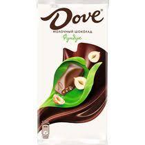 <b>Шоколад Dove молочный</b> с дробленым фундуком купить с ...