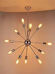 sputnik light fixture for chandelier naturous 12 lights pendant lighting vintage ideas 15