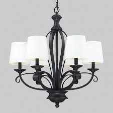 z lite charleston 6 light matte black chandelier