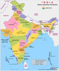 india map free map of india with