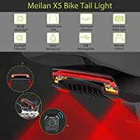 <b>Meilan X5 Smart Bike</b> Tail Light ?Automatic Brake Light Wireless ...