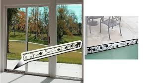 sliding door security bar. Decorative Sliding Glass Door Security Bar Doors Ideas In Size 1340 X 740