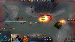 dota 2 stream clip abed 9k fire remnant youtube