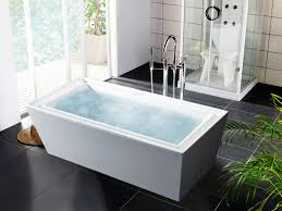 free standing contemporary bathtub  bathroom image for