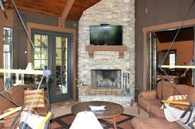screened porch fireplace ideas cost