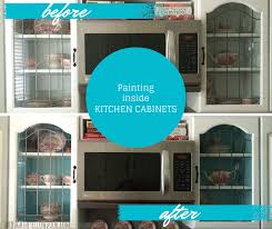 Paint Inside Kitchen Cabinets Painting The Inside Of Kitchen. Painting The  Inside Of Kitchen Cabinets