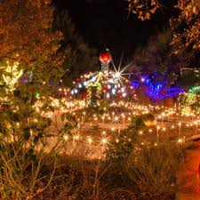 Christmas Garden of Lights Gallery | Amarillo Botanical Gardens
