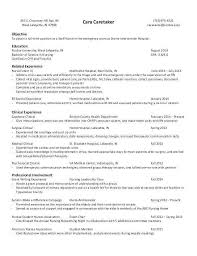Orthopedic Nurse Sample Resume Adorable Nursing Student Resume Clinical Experience Unique Entry Level Nurse