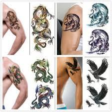 оптово 3d новый рукав рукава рукава временный тотем татуировки наклейки боди арт