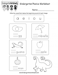 Free printable phonics workbooks, phonics games, worksheet templates, 100s of images for worksheets and more. 022 Kindergarten Phonics Worksheets Free Printables On Worksheets Ideas 6095