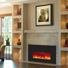 amantii small electric fireplace insert with 38x25 black glass front insert 26 3825