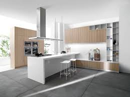 Modern Kitchen Flooring Contemporary Kitchen Best Contemporary White And Wood Kitchen