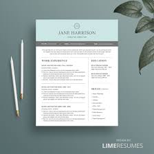 Free Resume Templates Modern Curriculum Vitae Cv Template Design