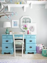 furniture for girls rooms. girls blue desk looks just like our from gladys furniture for rooms