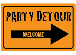 Printable Construction Signs Diy Printable Party Detour Welcome Sign By Couturecrafts28