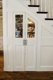 Pantry Under Stairs Shawnas Glamorous Custom Kitchen Kitchen Tour Cabinet Paint