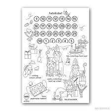 Download Gratis Sinterklaas Kalender Voor Je Kind Moodkids