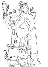Small Picture Despicable Me Coloring Pages 6 Coloring Kids