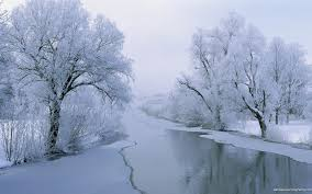 Snow Scenes River Hd Wallpaper Wide Screen Wallpaper 1080p 2k 4k