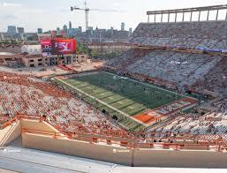 Darrell K Royal Texas Memorial Stadium Section 121 Seat