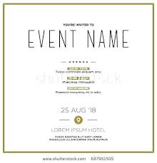 Event Invitation Card Template Dancarlyle Me
