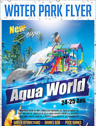 bar grand opening flyer water park grand opening flyer 21 park flyers psd eps ai download