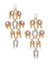 alexis bittar aigrette mother of pearl doublet crystal chandelier lighting ideas