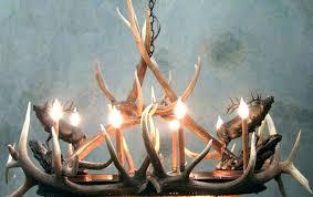 faux antler chandelier deer chandeliers white