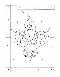 beginners stained glass patterns find printable easy lotus flower mosaic simple p
