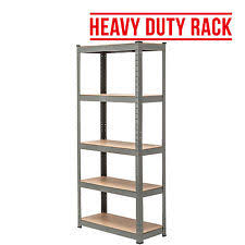 metal storage shelves. 5 tier heavy duty boltless metal grey shelving storage unit shelves garage home t