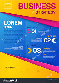 business template poster vector business flyer stock vector business template poster vector business flyer for your business