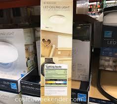 Motion Sensor Ceiling Light Costco Winplus Led Ceiling Light With Motion Sensor And Remote