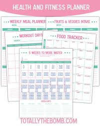 Food And Exercise Trackers Pin On Goal Be Healthy