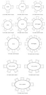 dining table size for 6 circular sizes round room dimensions with regard what tablecloth chairs table size for 8 round 6