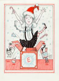 Christmas Notecard Eloise Christmas Notecard Set The Eric Carle Museum Of Picture