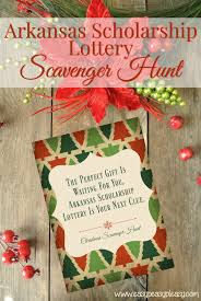 christmas scavenger hunt printable clues easy peasy pleasy printable scavenger hunt clues for the arkansas scholarship lottery scratch off tickets