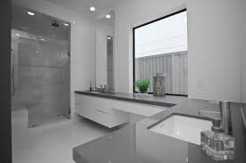 modern bathrooms designs 2014. L-shaped Counter With Vanity Modern Bathrooms Designs 2014