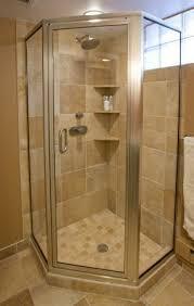 corner tile shower.  Corner Corner Shower With Glass Tile Privacy Window On Corner Tile Shower O